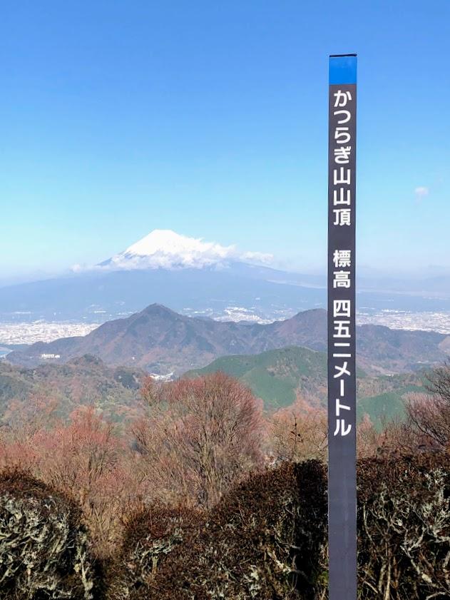 葛城山の山頂