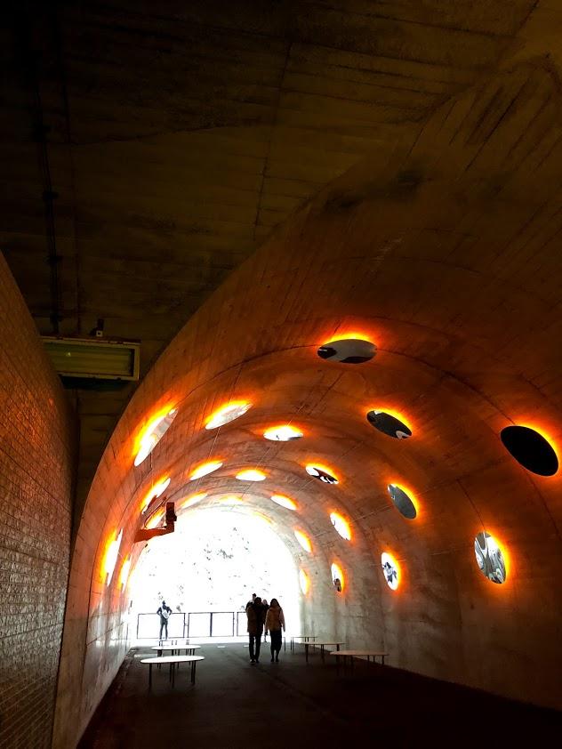 清津峡渓谷トンネルの第3見晴所
