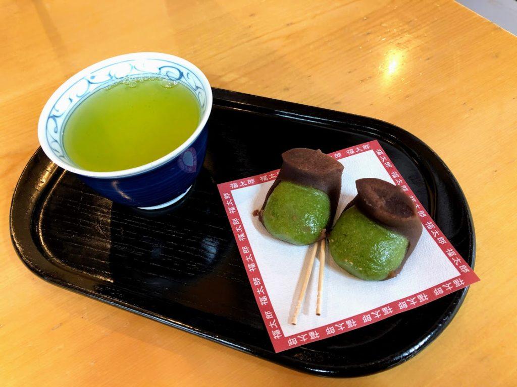 三嶋大社の福太郎餅