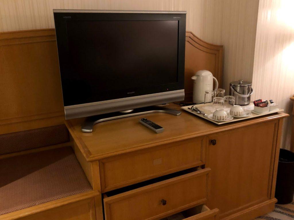 グランドニッコー東京台場の客室TV
