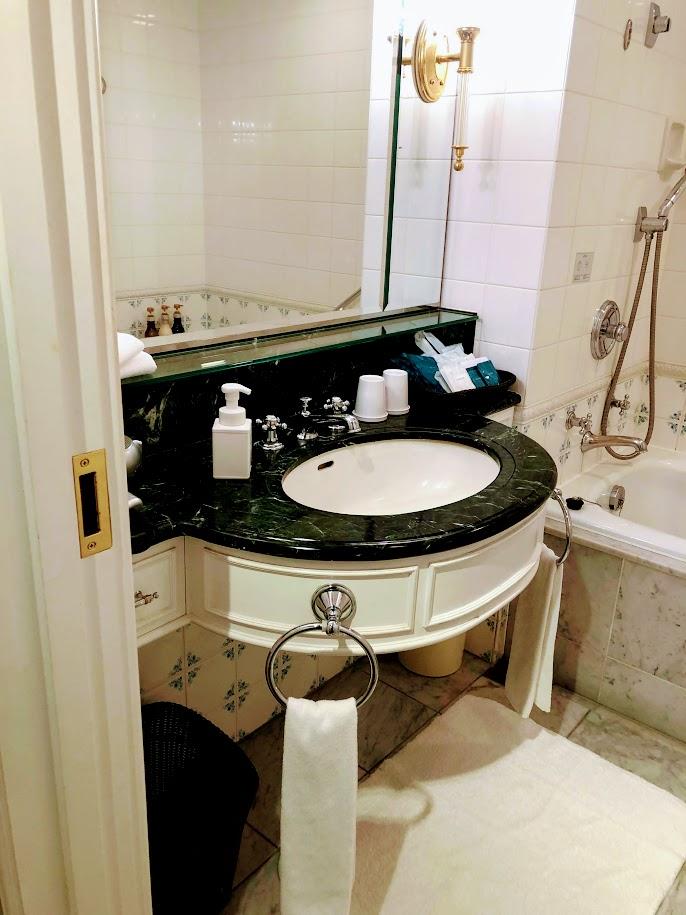 グランドニッコー東京台場の洗面所