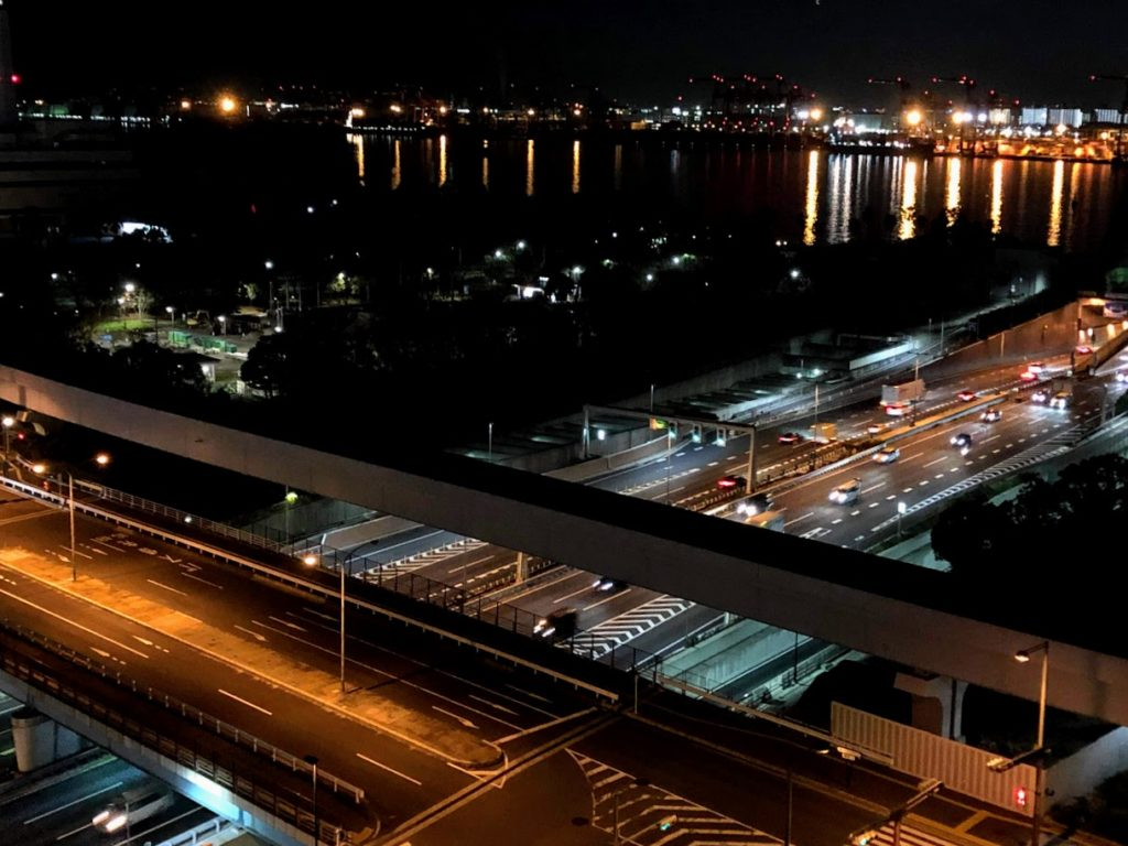 グランドニッコー東京台場の夜景