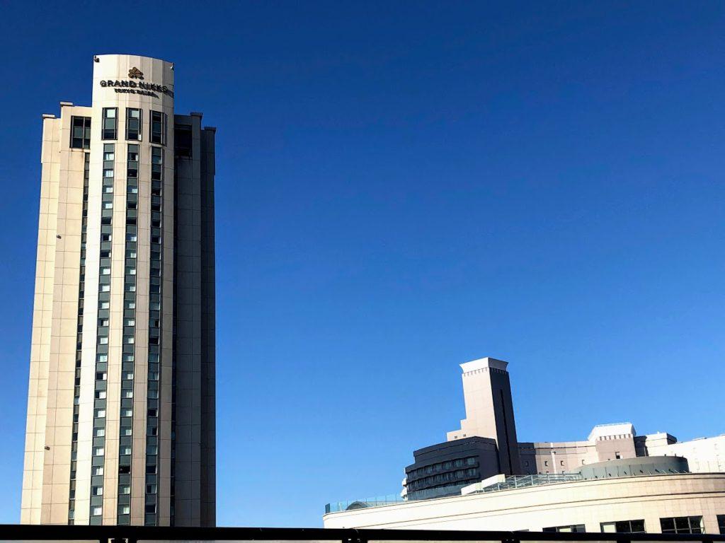 ホテルグランドニッコー東京台場の外観