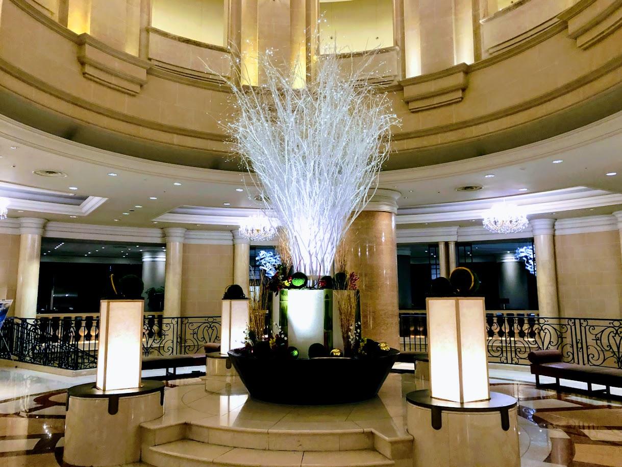 ホテルグランドニッコー東京台場のロビー
