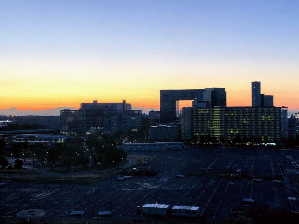 グランドニッコー東京台場から見える夜景