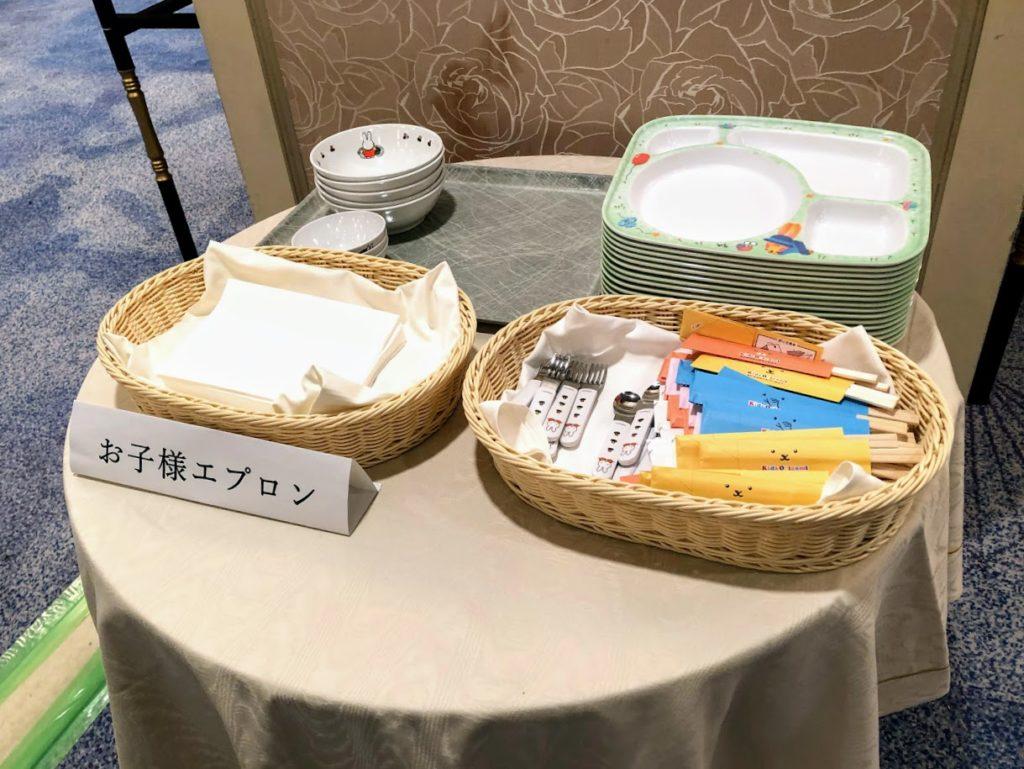 グランドニッコー東京台場の子ども用食器