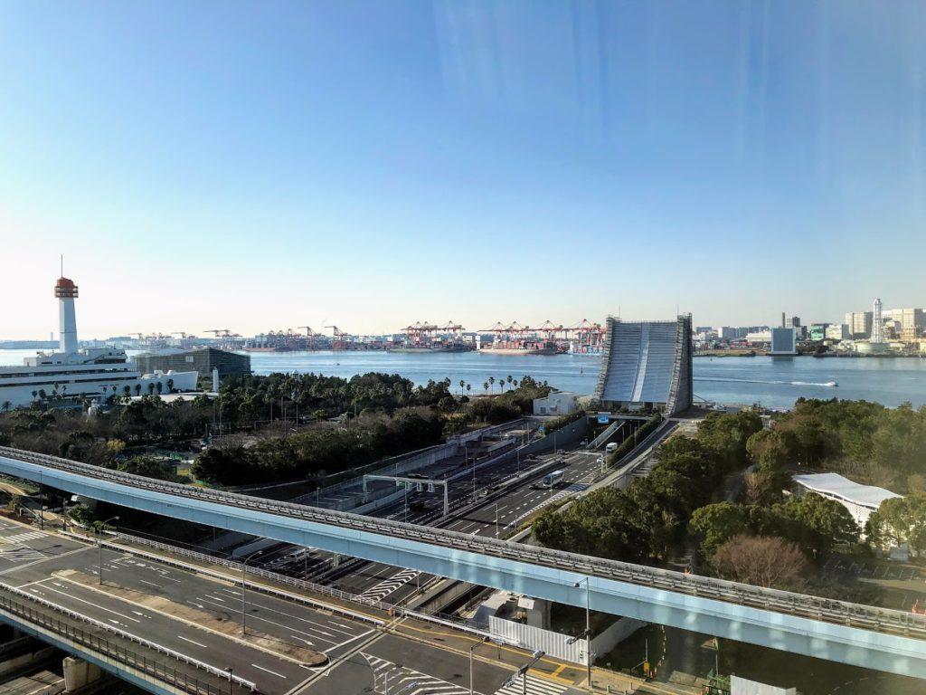 グランドニッコー東京台場から見える風景