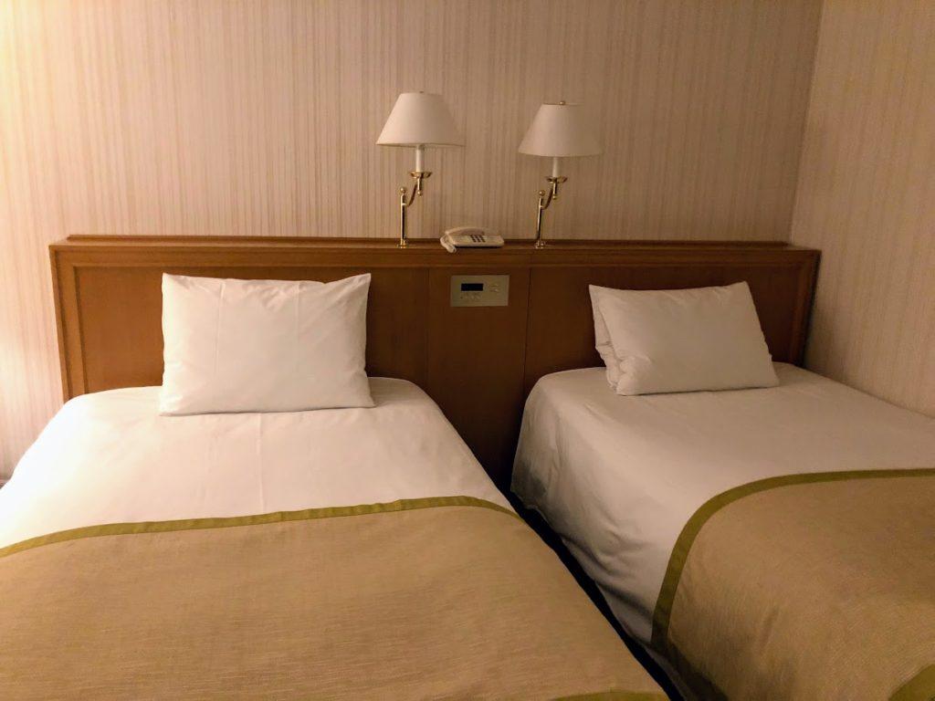 グランドニッコー東京台場のベッドルーム