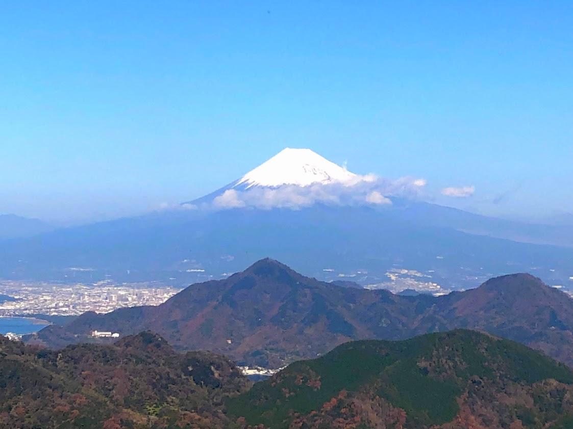伊豆の国パノラマパークから眺める富士山