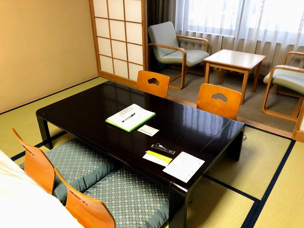 ホテル・ニューグランピア津南の客室