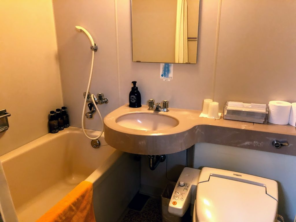 ニューグランピア津南のバスルーム