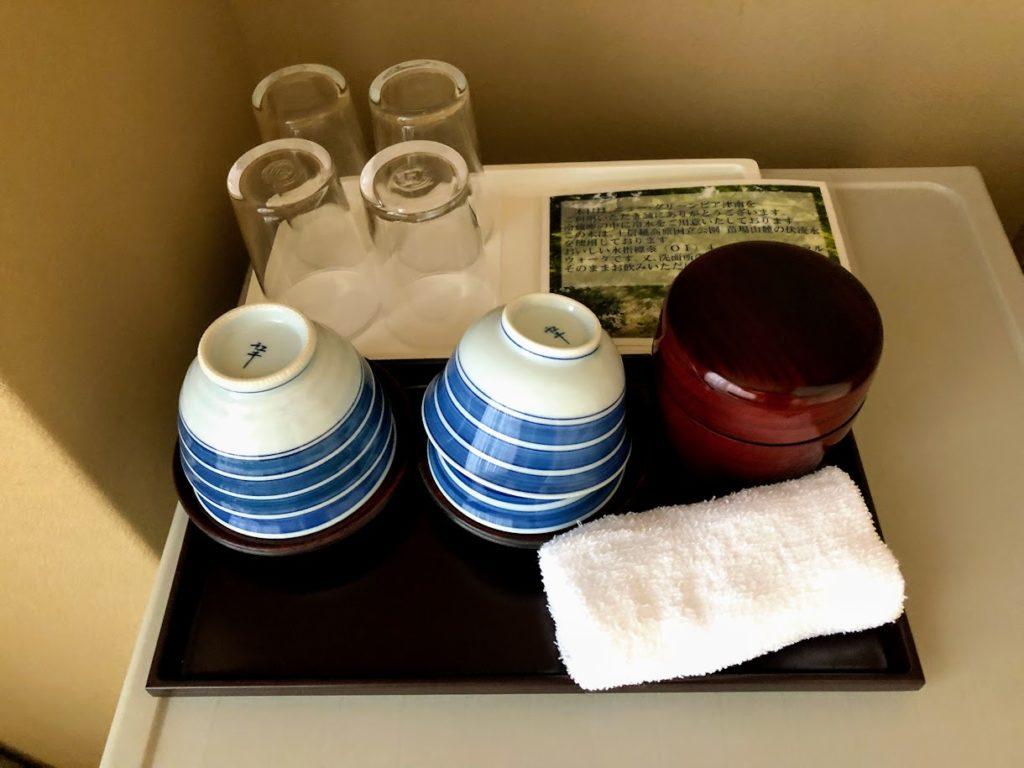 ニューグランピア津南の茶器