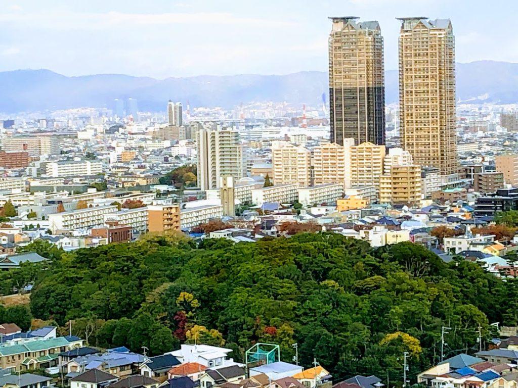 堺市役所展望台からの眺め