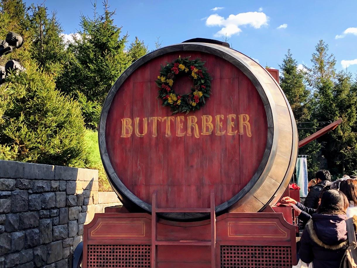 USJバタービールカート