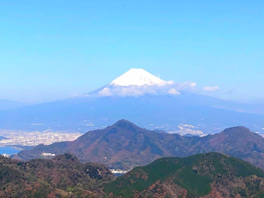 伊豆パノラマパークから見た富士山