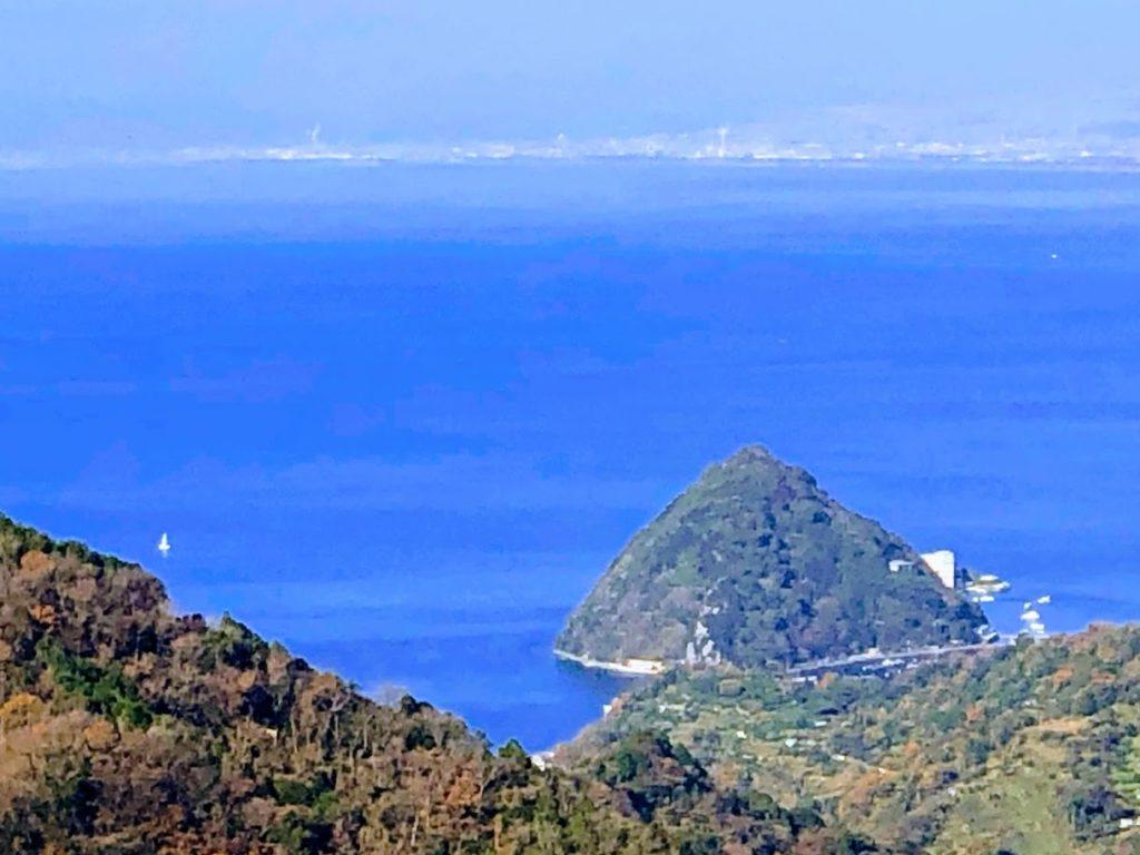 伊豆パノラマパークから眺める淡島