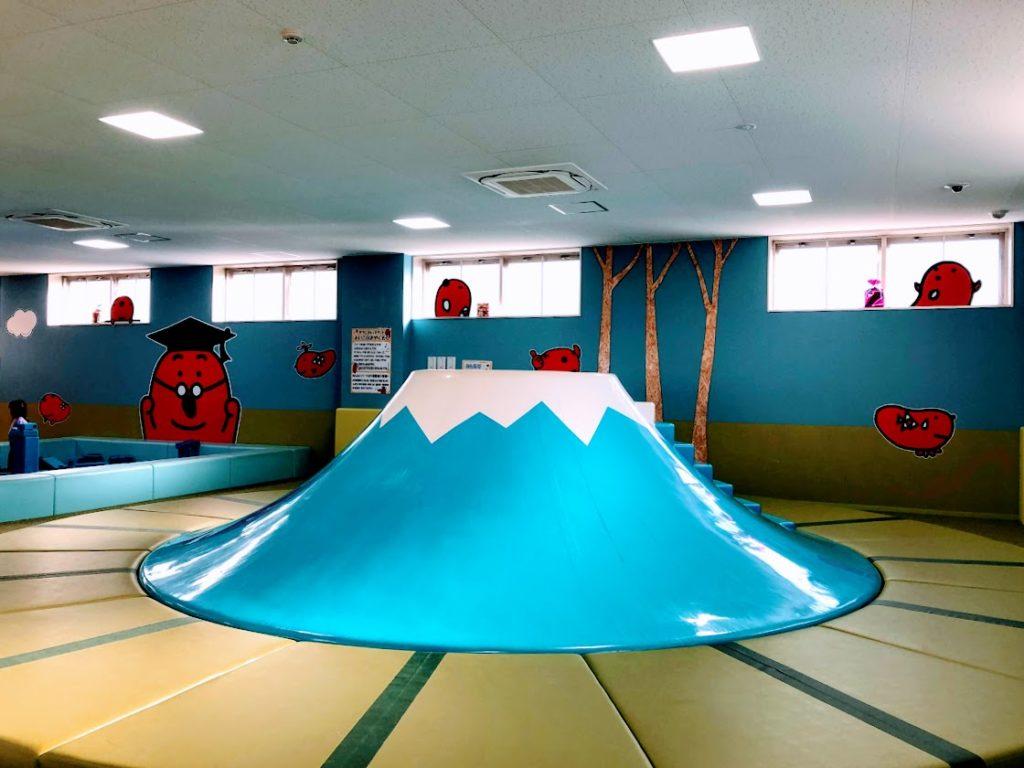 めんたいパーク伊豆の富士山すべり台