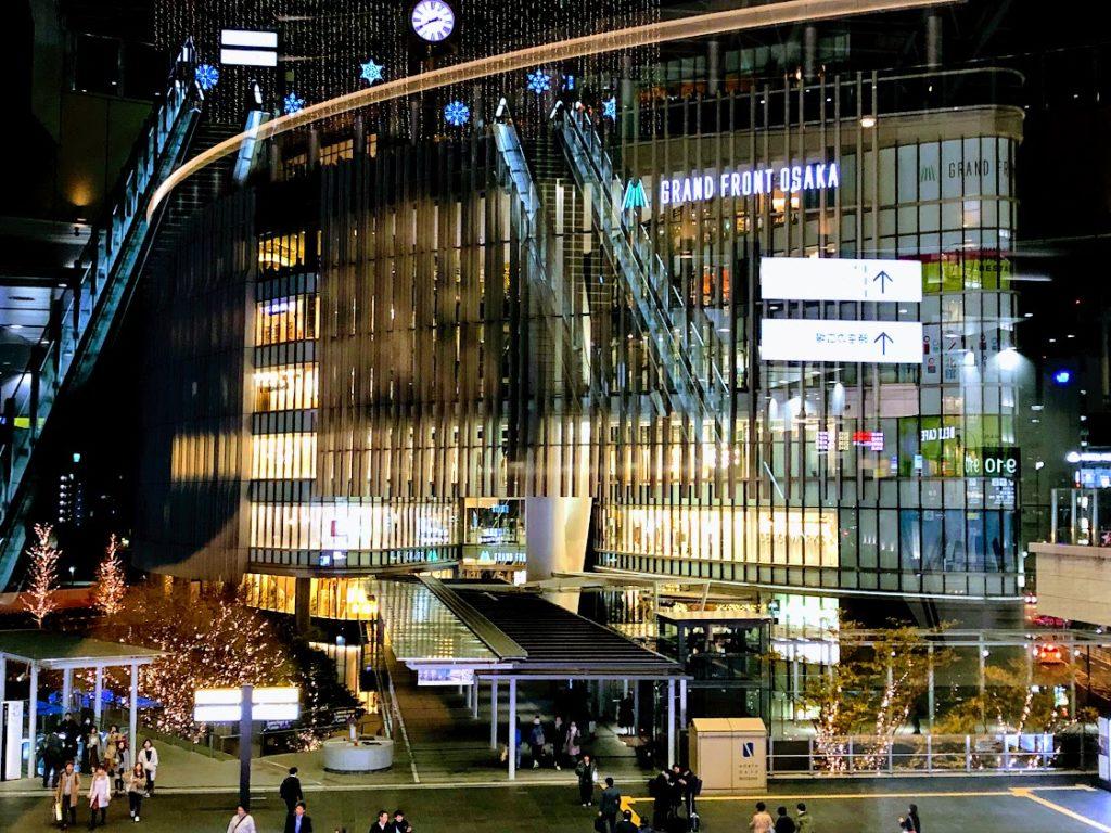 大阪グランフロントの夜景