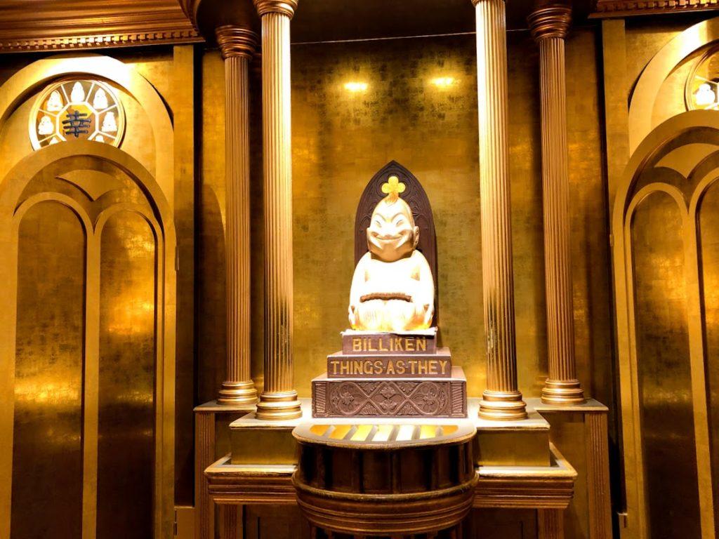 通天閣のビリケン像