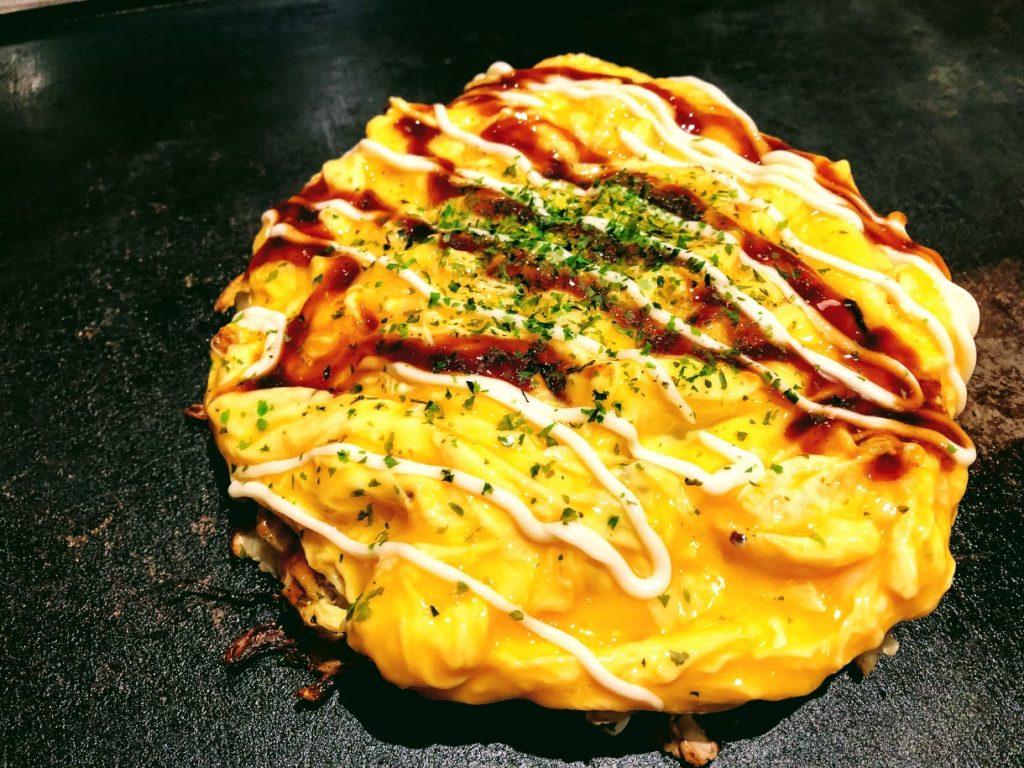 大阪 清十郎のお好み焼き