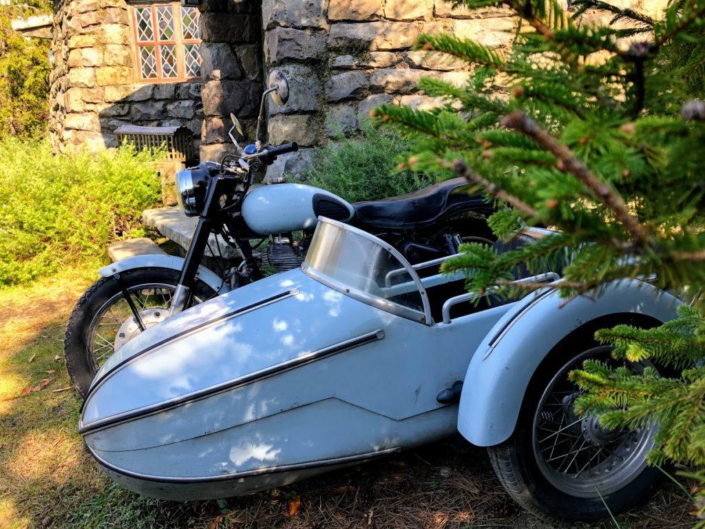 USJハグリッドのバイク