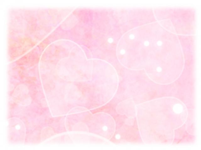 ピンクハートのイラスト